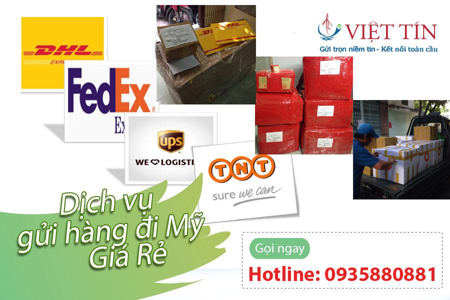 Dịch vụ gửi hàng đi Mỹ giá rẻ ở TPHCM
