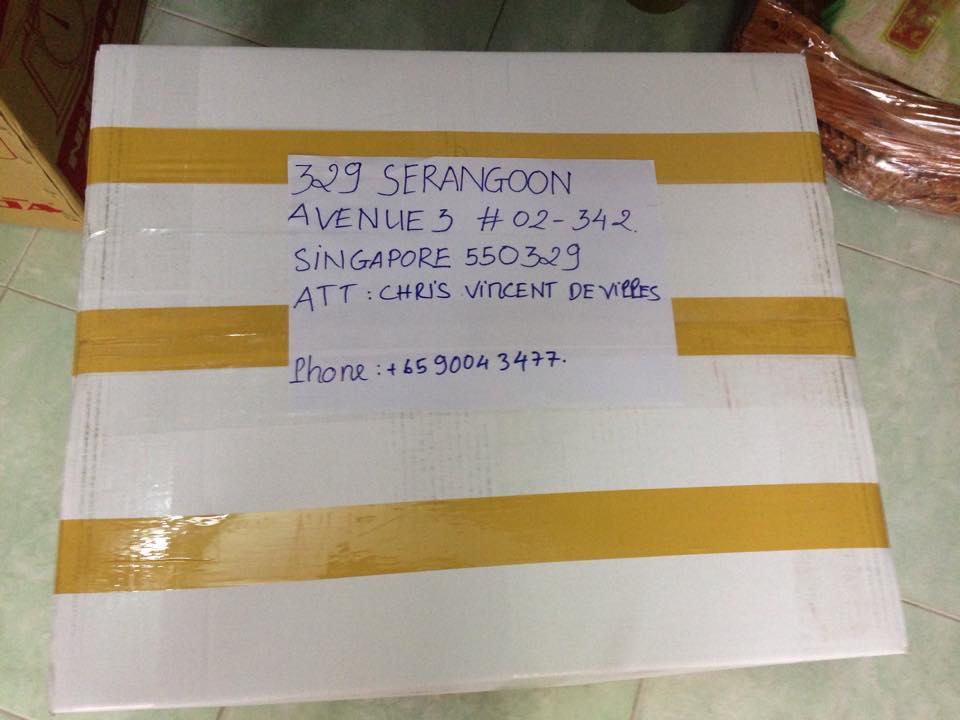 gửi hàng hóa đi singapore giá rẻ