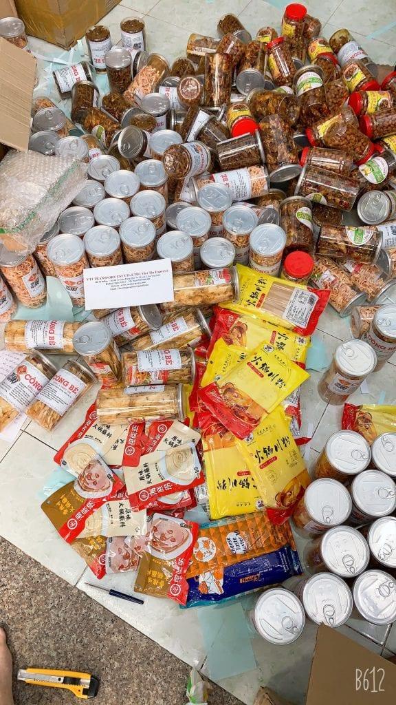 Gửi thực phẩm đi hong kong
