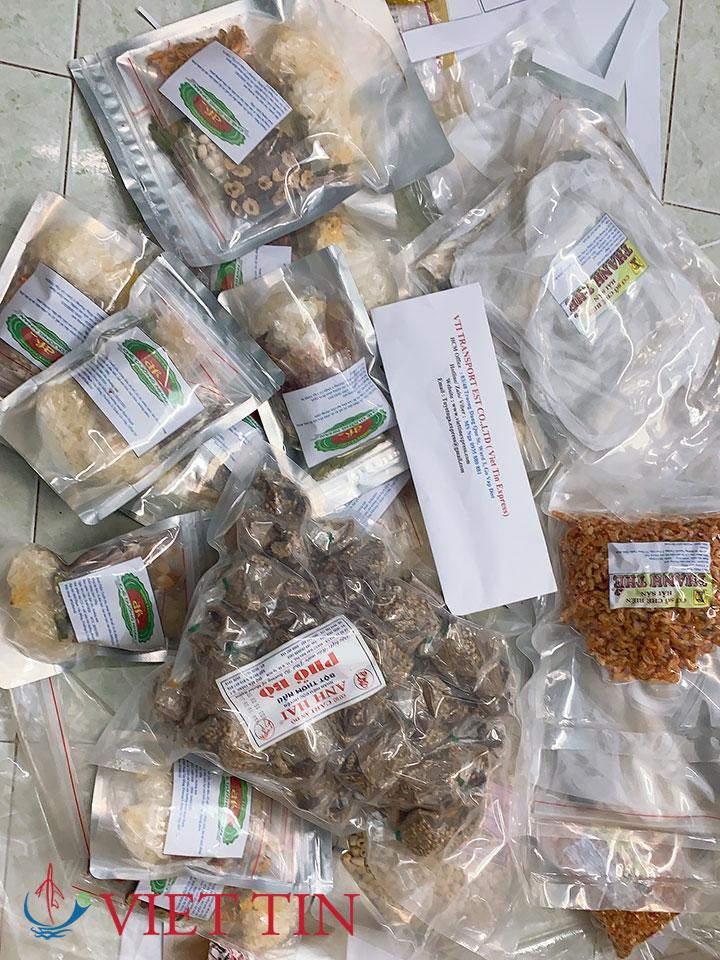Gửi thực phẩm khô qua Mỹ