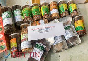 Gửi thực phẩm khô sang Mỹ