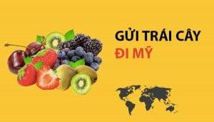 Gửi trái cây đi Mỹ