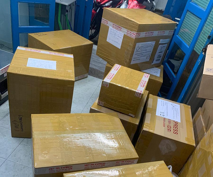 Vận chuyển hàng đi Mỹ Việt Tín Express