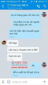 Việt Tín Express phản hồi của khách hàng