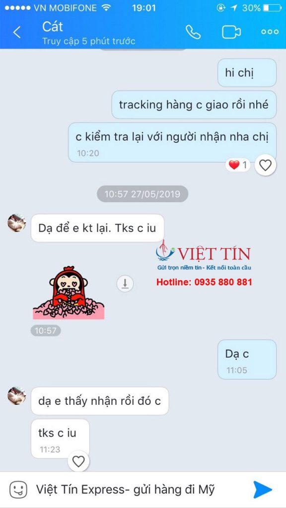 Việt Tín Express review của khách hàng