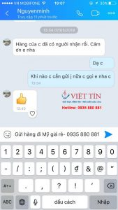 Việt Tín Express đánh giá của khách hàng