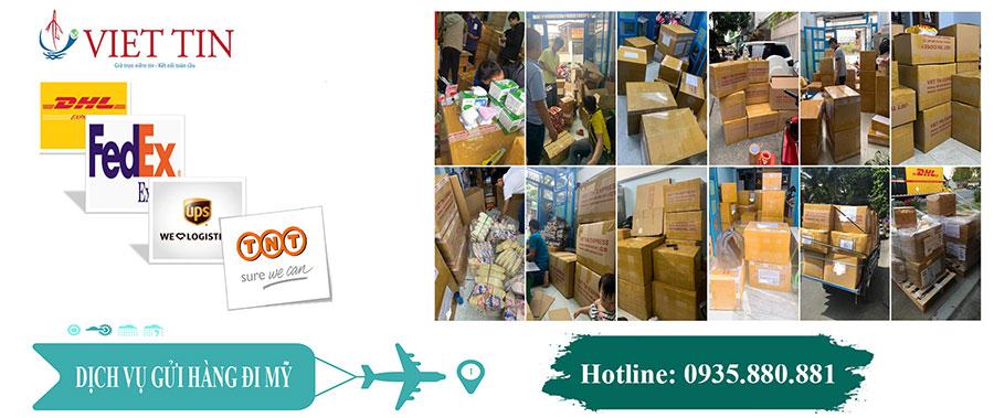 Việt Tín Express gửi hàng đi Mỹ