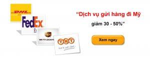 Gửi hàng đi Mỹ Việt Tín Express